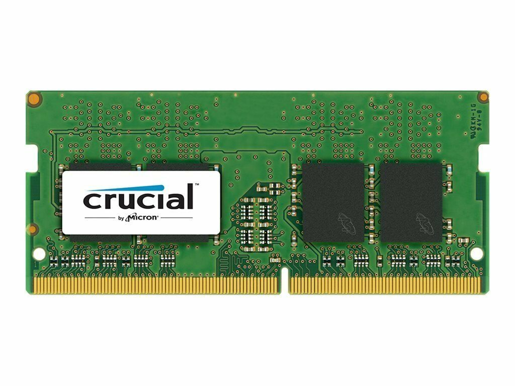 Crucial 4GB DDR4 2400 MHz PC4-19200 SODIMM 260-Pin Laptop Me