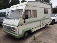Fiat elddis 300 special camper diesel lovely old motor ready to go with a recent service and mot