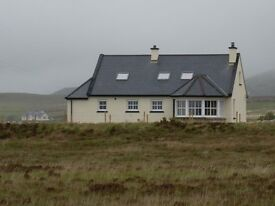 DERRYREEL Cottage Holiday Home / Rental on Wild Atlantic Way in Donegal close to Dunfanaghy