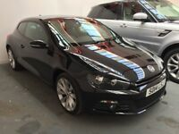 Totally Immaculate 2014 Vw Scirocco 2.0 GTDi Bluemotion only 24000 miles one owner fsh