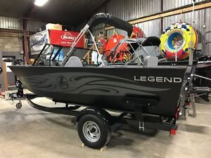 2017 legend boats F19 with MERCURY 115HP ELPT London Ontario image 2