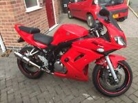SV650S K6 (2006) >26k miles, GP Exhaust, R&G Tail Tidy. A great first big bike