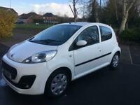 PEUGEOT 107 GOOD SERVICE HISTORY FREE ROAD TAX LONG MOT VERY GOOD CONDITION