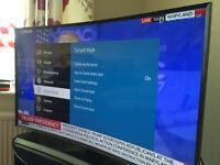 Samsung 4K 3D curved Ultra HD TV (UE48JU7500T) - like new