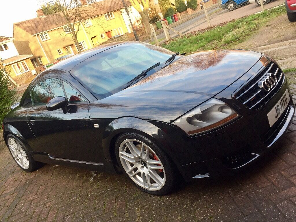 2004 audi tt 225 quattro black with red leather v6 upgrades deposit taken in slough. Black Bedroom Furniture Sets. Home Design Ideas