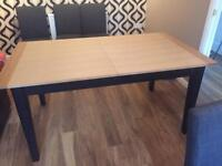 Lovely 6/8 seat dining table from next.