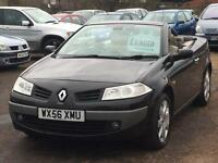 Renault Megane 2.0 2006 Convertible + SERVICE HISTORY + MOT TILL JUNE 2017 + BEAUTIFUL CAR