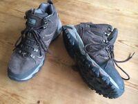 Karrimor mount mid waterproof hiking boots size 8