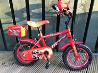 "Apollo Firechief Kids' Bike - 12"" Age 3-5"