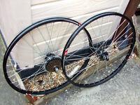 As new one pair of 26 x 22 bike cycle bicycle wheels