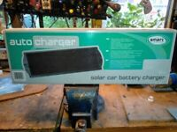 Auto charger, solar car battery charger, used for sale  Stonehouse, Gloucestershire