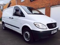 2007 07 Mercedes Benz Vito 2.1 CDI 155k Miles Exc Condition not transit caddy connect vivaro 1.9