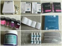 Nail technician, salon tools and equipment