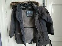 NEXT WINTER COAT AGE 3-4 YRS