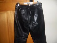 Gap Leather trousers