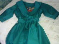 Ringspun Water resistant coat Tropical Green