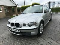 \\\\ 04 BMW 316 TI ES COMPACT \\\\ VERY CLEAN CAR NOW ONLY £799 ,,,
