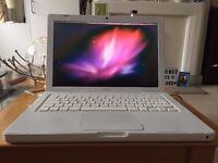 "Apple MacBook A1181 13.3"" Laptop - White Retro Vintage Macbook"