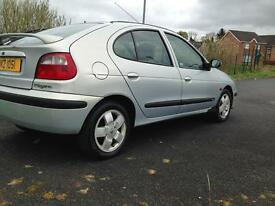 2002 Renault Megane.easy run and insured £350...cookstown/dungannon motd to august 2017.