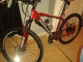 Diomand back push bike