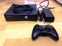 Xbox 360 250GB and Nintendo Wii both with games and accessories