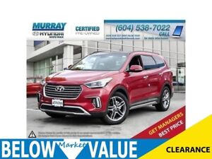 2017 Hyundai Santa Fe XL Limited**NAVI**CAR PLAY/ANDROID AUTO**C