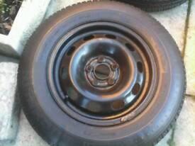 vw golf wheel / 14 inch new tyre ( audi seat skoda ) 175 / 80 / 14