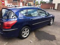 PEUGEOT 407 HDI ESTATE NEW MOT