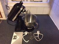 KitchenAid Artisan 5KSM150 Stand Mixer w/Accessories - Onyx Black