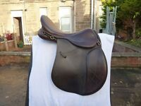 GFS Pro-event 17'' saddle in brown leather