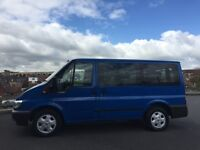 Ford transit tourneo 2.0 tdci 8 seater minibus 12 mth mot very clean van immaculate runner