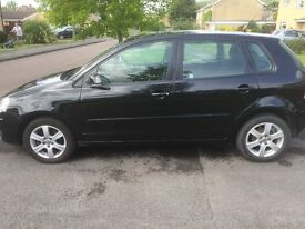 Black Volkswagan Polo 1.2 Match - low mileage, 1 previous lady owner from new, excellent condition