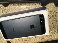 iPhone 5 32gb black 02 or tesco