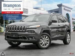 2017 Jeep Cherokee LIMITED 4X4 | EX CHRYSLER COMPANY DEMO | 8.4