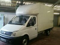 08 REG LDV MAXUS LUTON WITH TAIL LIFT LOW MILES ONLY ��4650 NO V.A.T