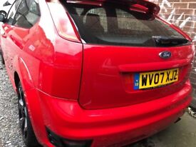 2007 ford focus st2 red 295 bhp bargain
