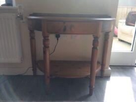 Ducal Pine Side/Lamp Table