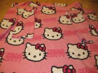 HELLO KITTY SLEEVED SNUGGLE FLEECE BLANKET £30 Amazon 4 similar REDUCED AGAIN TODAY NOW ONLY £5.50