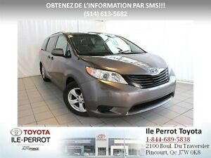 2012 Toyota Sienna V6, A/C, 7 PASS, GRP ÉLEC, CRUISE, MAGS