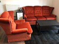 3-Seat and 1-seater sofa set