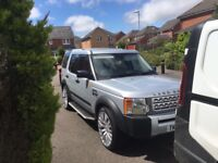 Land Rover discovery diesel automatic silver new alloys tinted windows side steps Cream leather