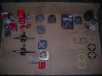Pieces mini vtt apex,drr,LT80cc,sportman 90,piston et cylindre