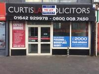 LINTHORPE ROAD MIDDLESBROUGH RETAIL UNITS | OFFICE AVAILABLE PRIME LOCATION