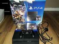 Boxed 500gb PS4 with 2 games