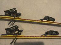 Ski's with bindings