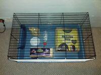 Indoor rabbit or guinea pig hutch