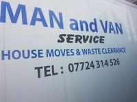 Smart moves man and van services single items from 15 pounds