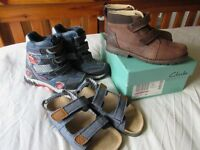 Boys winter boots - Disney Cars and BRAND NEW Clarks boots