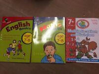 English/Math practice book 7-8 years