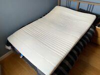 Mattress topper IKEA 'TUSSÖY', white, Standard Double